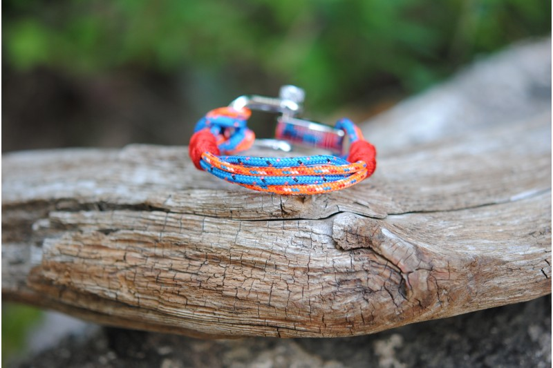 Bracelet Netherlands-Blue (red s.f.)Shackle Black