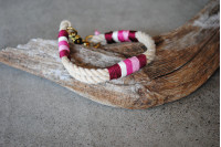 Collar Vintage/Sweet Burgundy/Brass