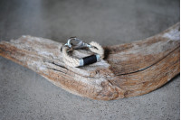 Bracelet, Vintage/Stainless
