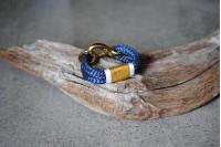 Bracelet Navy/Brass