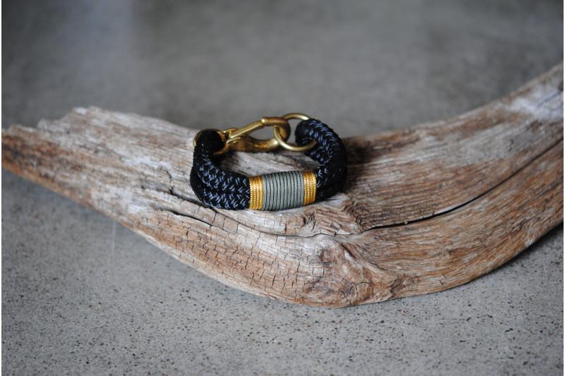 Bracelet Black/Brass
