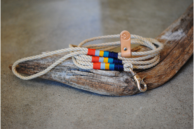 Laisse/Leash Vintage/Steel