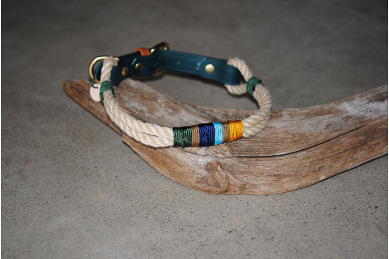 Collier ajustable Earth