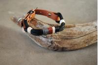 Adjustable collar Black/Bear