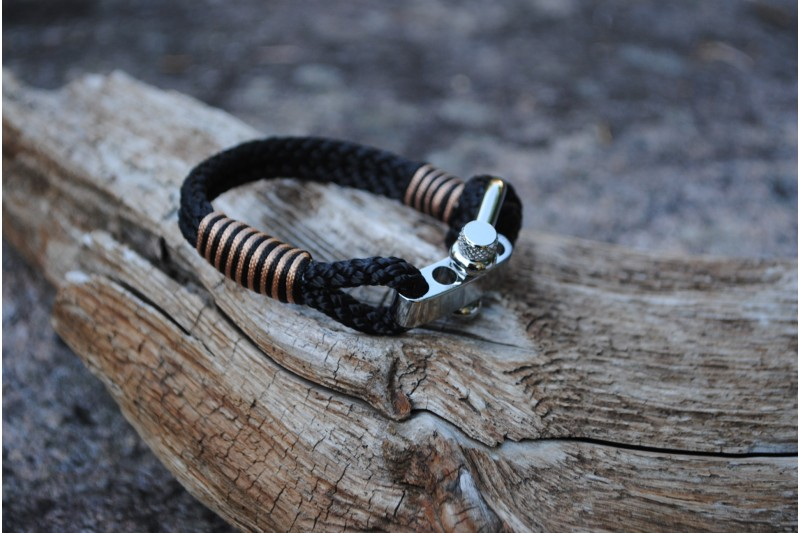 Bracelet Black/Shackle
