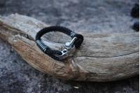 Bracelet Noir 5mm/Manille
