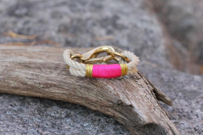 Bracelet, Vintage/Infinity Blue-Gold 02/Brass